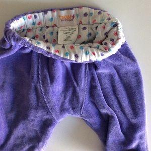Truly Scrumptious Girl lined velvet harem pants